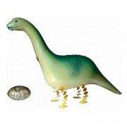 """Шар фигура ходячая """"Динозавр с яйцом"""""""