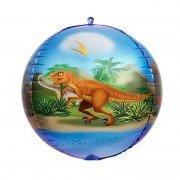 """Шар 3D сфера """"Динозавр"""""""
