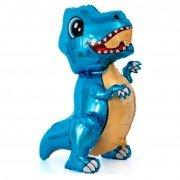 "Шар фигура ходячая ""Маленький синий динозавр"""