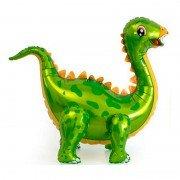"""Шар фигура ходячая """"Динозавр стегозавр зеленый"""""""