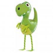 """Шар фигура ходячая """"Маленький зеленый динозавр"""""""