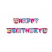 """Гирлянда-буквы Happy Birthday """"Принцессы Лето"""""""