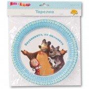 Набор тарелок Маша и Медведь