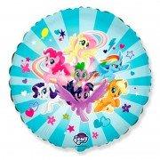 Воздушный шарик Пони команда