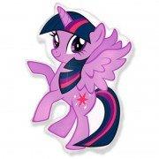 Воздушный шар Литл Пони фиолетовый