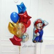 Фонтан из шаров Супер Марио