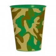 Пластиковый камуфляжный стаканчик