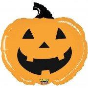 Шар (28''/71 см) Фигура, Тыква на Хэллоуин, Оранжевый, 1 шт.