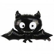 """Шар на Хэллоуин """"Чёрная летучая мышь"""""""