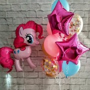"Набор шаров My Little Pony ""Розовая пони"""