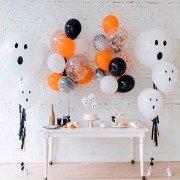 """Украшение шариками на Хэллоуин """"Страшный призрак"""""""