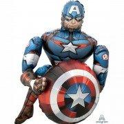 """Ходячий шар """"Капитан Америка"""""""