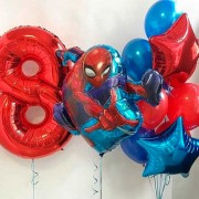 Набор шаров Человек Паук на 8 лет