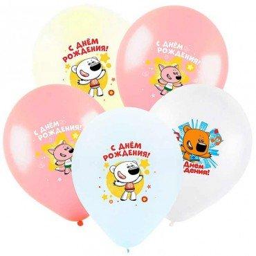 Воздушные шарики с героями мультика Мишки Мимимишки
