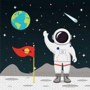 Салфетки Открытый Космос 33см 20шт