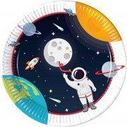 Тарелка Открытый Космос 23см 8шт