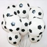 шарики для мальчика Футбольный мяч белые 2