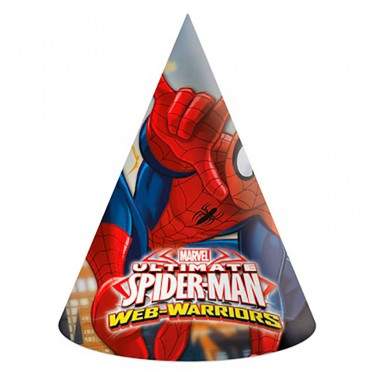 Колпачки на голову с человеком пауком