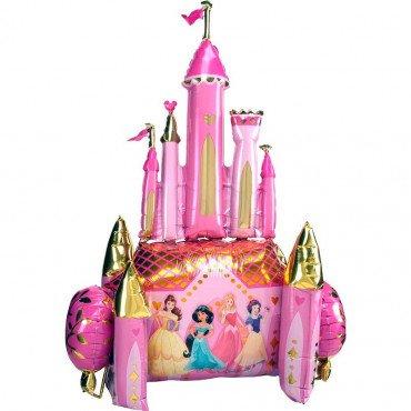 Ходячая фигура замок принцесс дисней