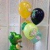 Гелиевые шары с днем рождения динозавр-1