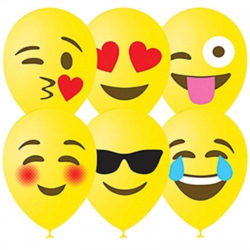 Воздушные шарики смайлы Эмодзи