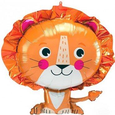 Фольгированный шар добрый львёнок