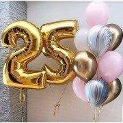 Композиция из шаров на юбилей 25 лет