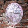 Шар с наполнением нежно розовым конфетти 1