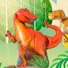Фольгированный шар динозавр Тиранозавр 1