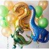 Фольгированный травоядный шар динозавр Брахтиозавр 3