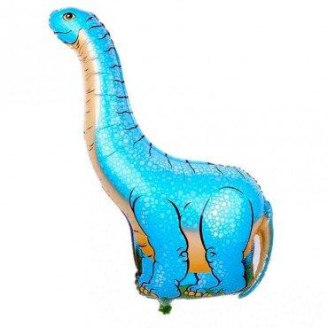 Фольгированный шар динозавр Брахтиозавр