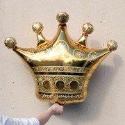 Фольгированный шар Золотая корона