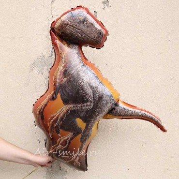 Фольгированный шар динозавр Раптор