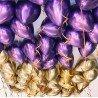 Фиолетовые шарики хром