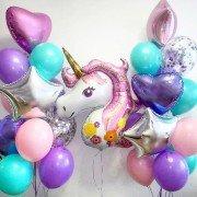"""Воздушные шары для девочки """"Сказочный сет"""""""