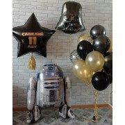 """Воздушные шары в стиле """"Звёздные войны"""" на 11 лет"""