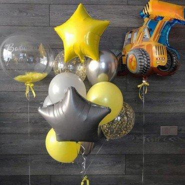Bubble с надписью на заказ для сына на День Рождения