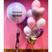 """Воздушные шары для девочки """"Радостный день"""""""