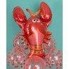 Фольгированный шарик весёлый омар