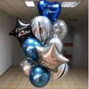 """Воздушные шары для мужчины """"С возвращением"""""""
