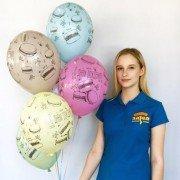 Воздушные шары на День Рождения макарунс