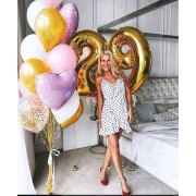 Букет из шаров на 29 лет для девушки