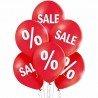 Воздушные шары для оформления магазина