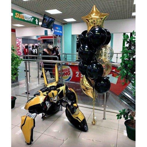 Воздушные шары для мальчика с Бамблби