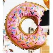 Фольгированный пончик надкусанный