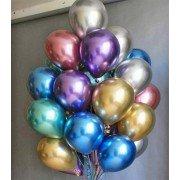 Гелиевые шары хром