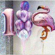 """Сет """"Розовый фламинго"""""""
