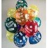 Гелиевые шарики хэштеги цветные