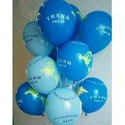 """Воздушные шары с рисунком """"Планета Земля"""""""