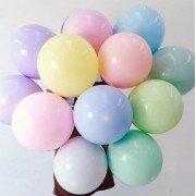 Разноцветные шары макарунс пастель